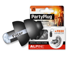 Alpine PartyPlug Black Earplugs
