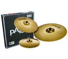 Natal drum kit with Paiste cymbals