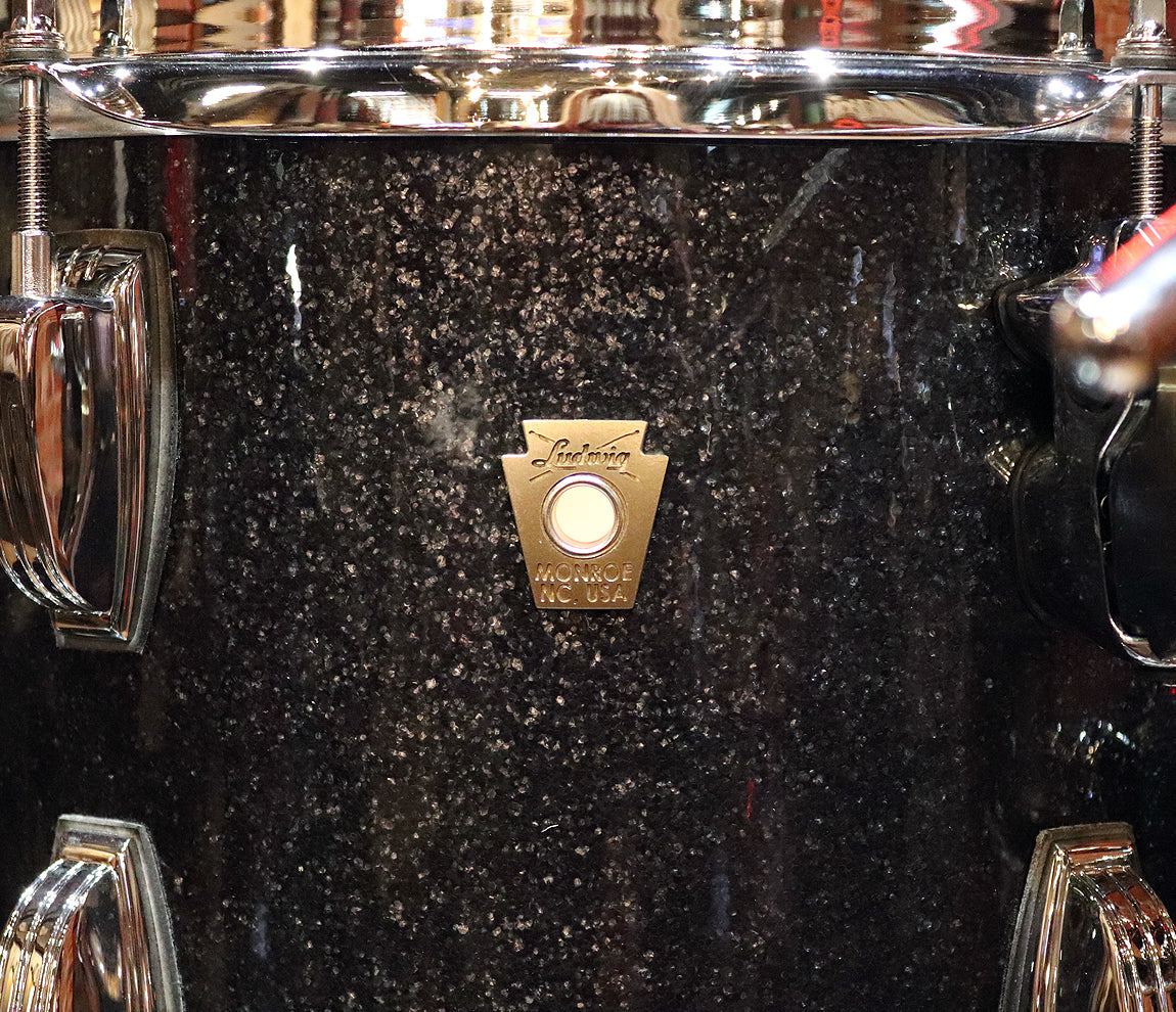 Ludwig Classic Maple Black Sparkle Pro Beat 3-Piece Shell Pack