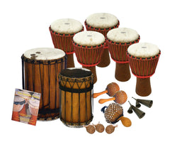 African Drumming Kit For 15 Players
