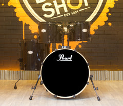 Pre-Loved Pearl Vision SST Birch Ply 4-Piece Shell Pack in Black Lacquer