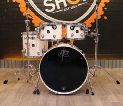 Pre-Loved DW Performance 4-Piece Shell Pack in White Ice