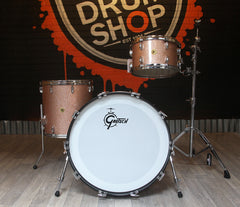 Pre-Loved Gretsch USA Custom Drum Kit in Champagne Sparkle