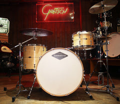 Craviotto Custom Shop 3-Piece Maple With Maple Inlay Drum Kit