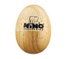 Nino Wood Egg Small, Meinl Percussion, Hand Percussion, Wood, Small, Percussion Instruments