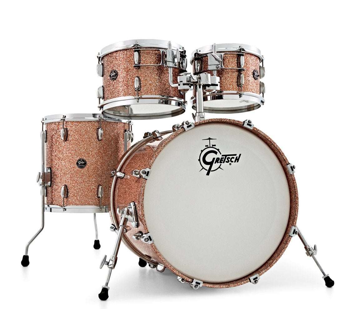 """Gretsch Renown 20"""" Maple Copper Sparkle 4pc Shell Pack"""