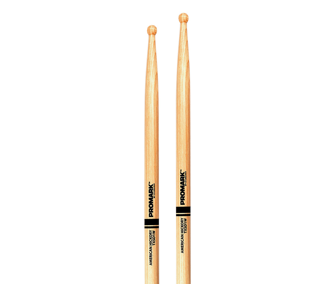 Promark Hickory SD1 Wood Tip Drumsticks