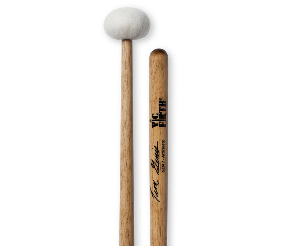 Vic Firth Tim Genis - Articulate Timpani Mallets, Vic Firth, Mallets, Wood Core, Drumsticks & Mallets