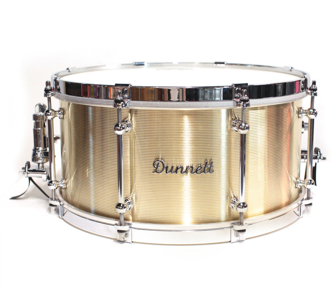 Dunnett classic 14 x 6 5 snare drum in kast bronze for Classic house drums