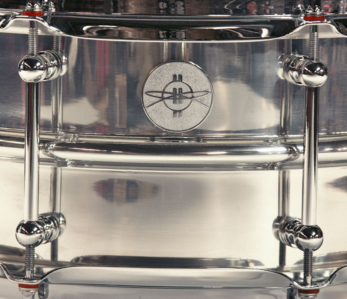 Dunnett Classic Badge - Model 2N Aluminum Snare Drum
