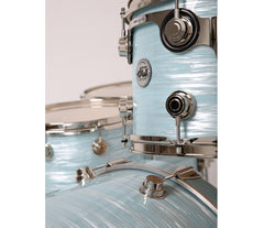 Drum Workshop Collectors 5-Piece in Pale Blue Oyster