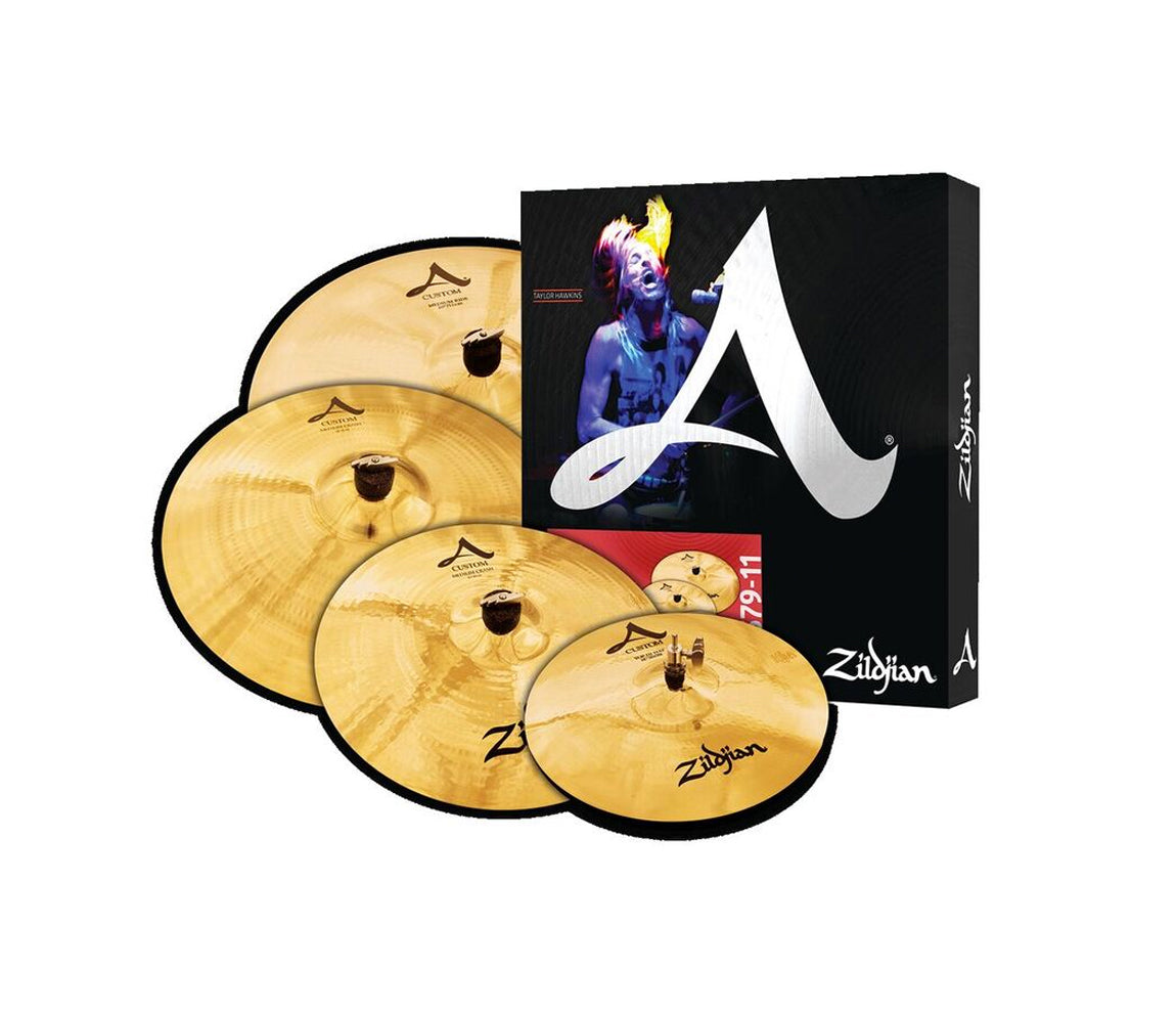 Zildjian A Custom 4 Pack Matched Set