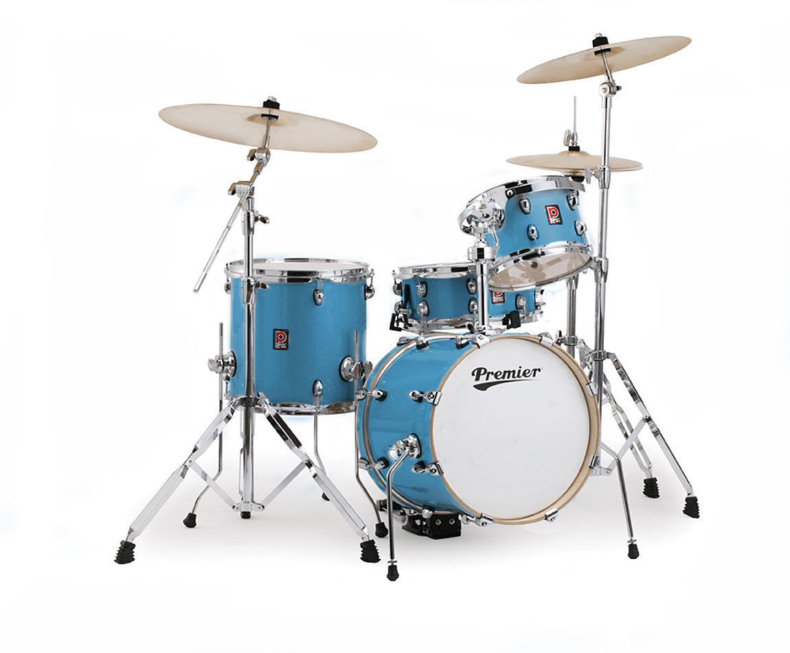Premier APK Series Microbop 16 Drum Kit in Cosmic Blue