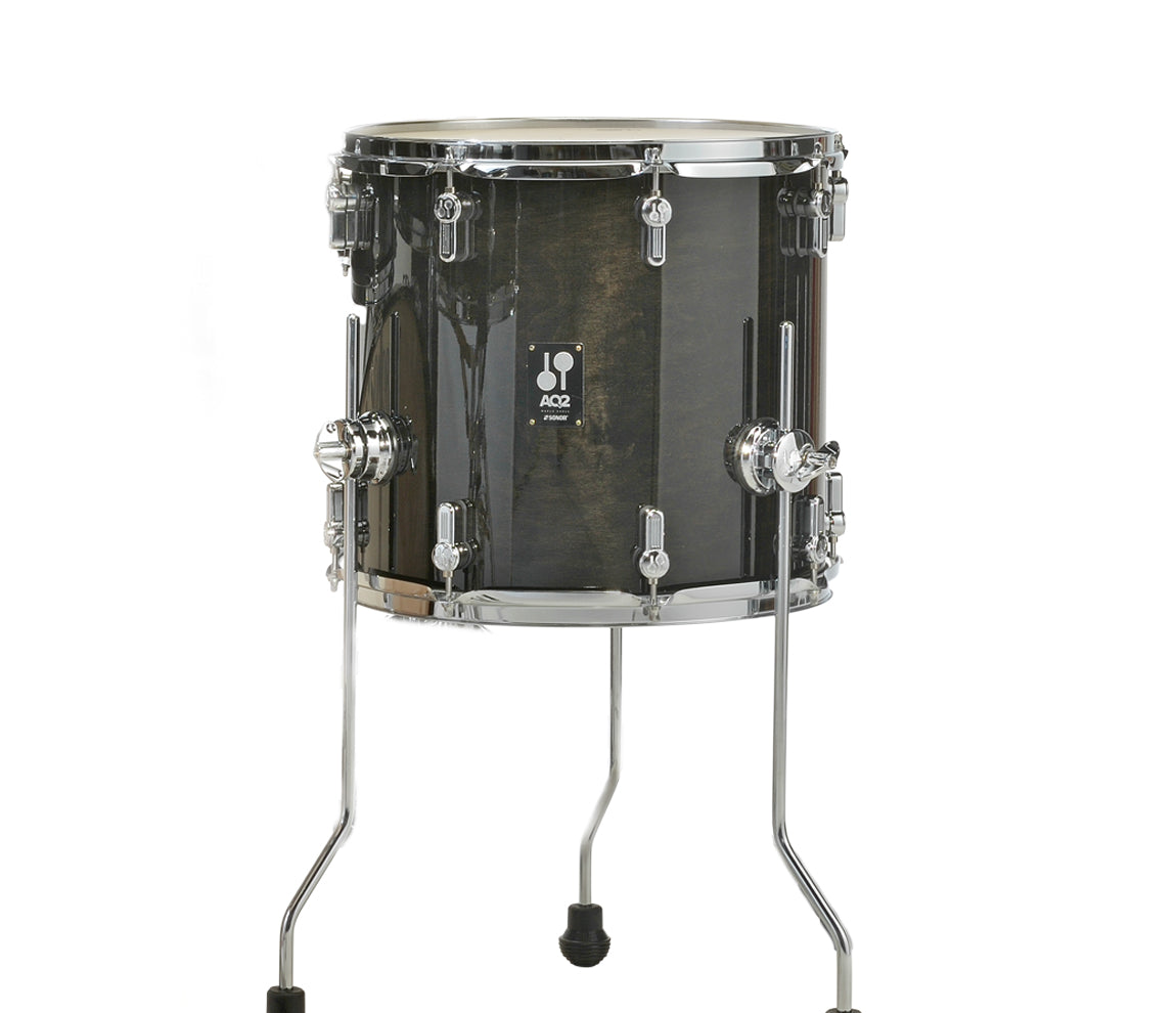 Sonor, Sonor AQ2, Transparent Satin Black Finish, 16