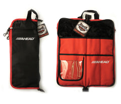 Ahead (ASB4) Black with Red Trim Stick Bag