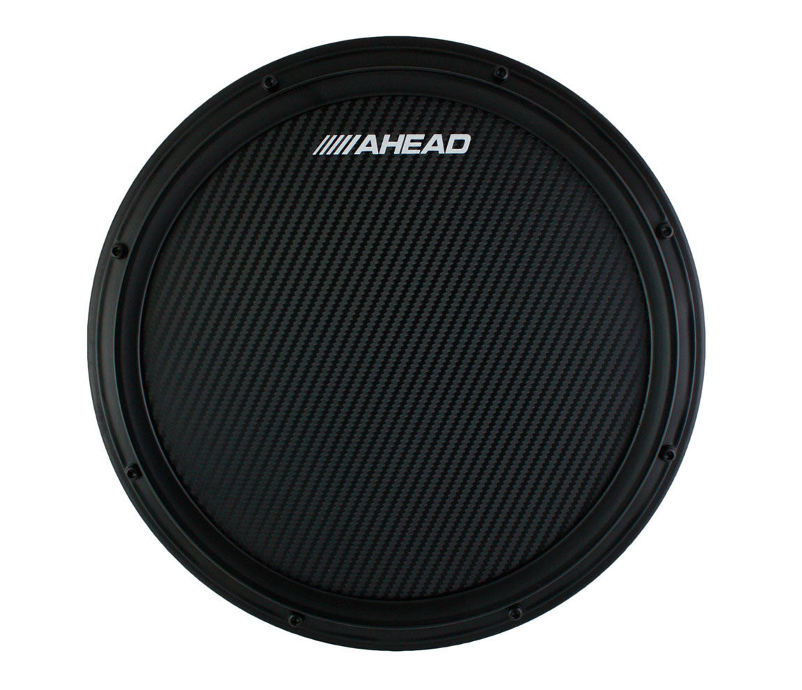Ahead Replacement Black Carbon Fibre Top for All Ahead S Hoop Marching Pads, Ahead, Practice Aheads, Marching Pad, Black, Practicing Essentials, Replacement