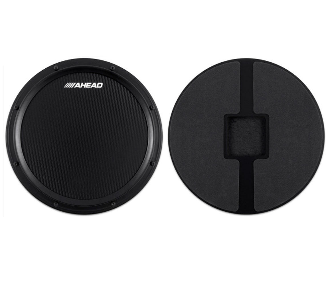 ahead 14 black s hoop marching pad with snare sound drum shop. Black Bedroom Furniture Sets. Home Design Ideas