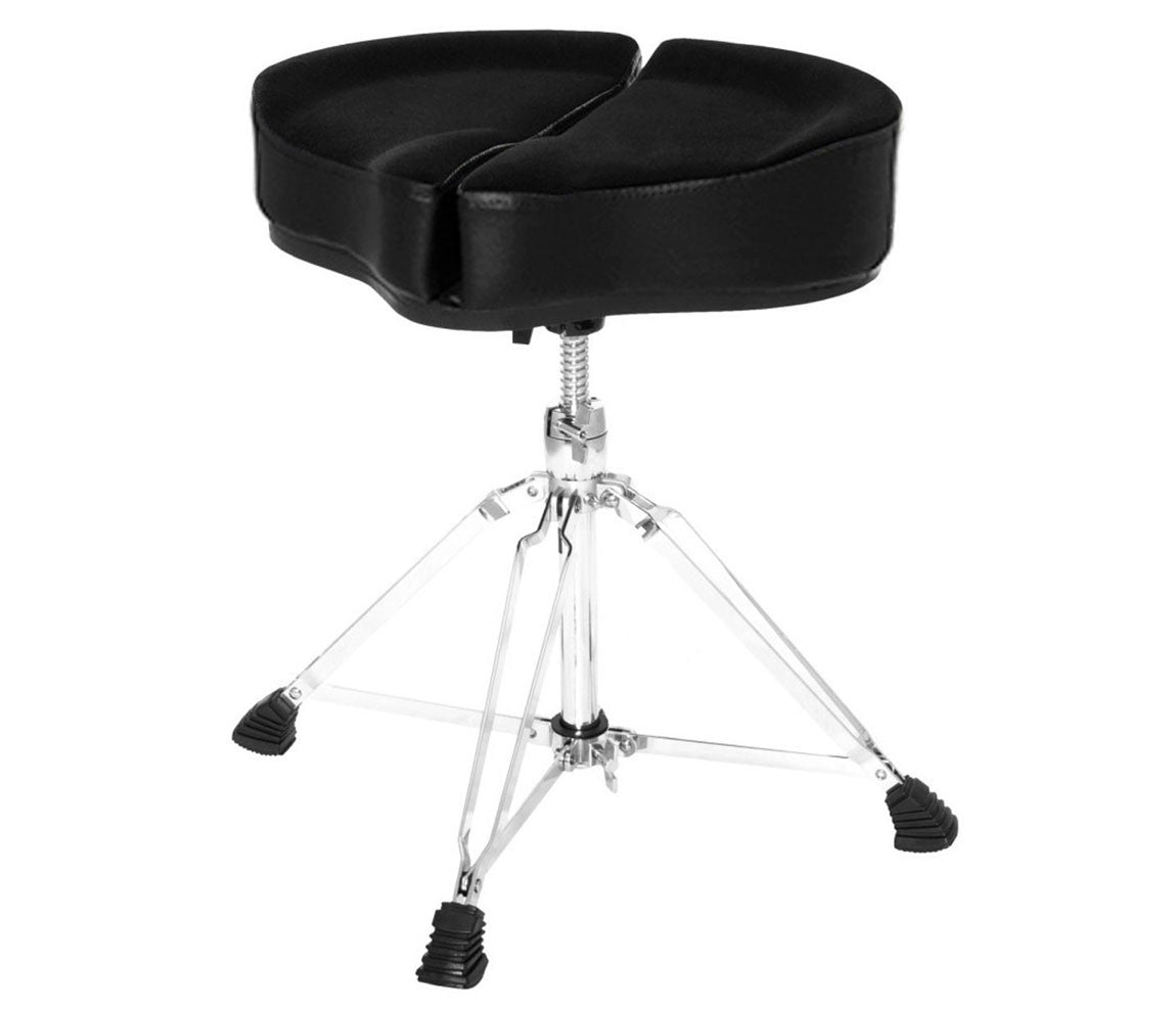 Ahead Spinal-G Drum Throne, Drum Thrones, Ahead, Hardware, Black, Saddle Seat