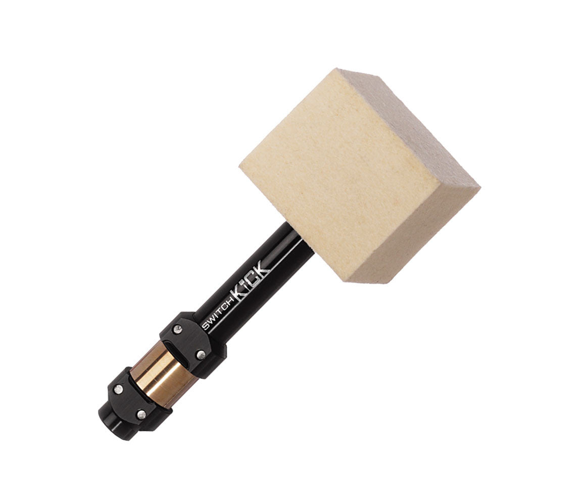 Ahead Switch Kick Square Felt Kick Bass Drum Beater System, Ahead, Beaters, Drumsticks and Mallets, Special Order