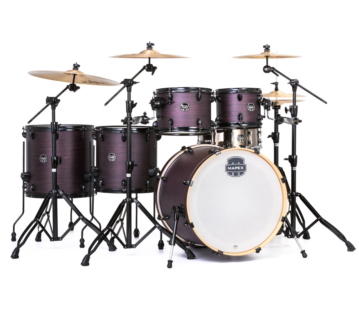 Mapex Armory Fusion 6-Piece Shell Pack, Mapex, Acoustic Drums, Professional, Fusion Drum Kit
