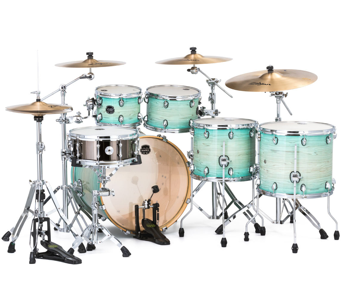 Mapex Armory Rock Fusion 6-Piece Shell Pack, Mapex, Acoustic Drums, Professional, Rock Fusion USA