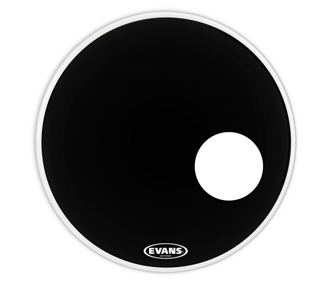 BD22RB Evans Black Bass Drum Head