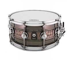 Natal Beaded/Hammered Steel Snare Drum 14