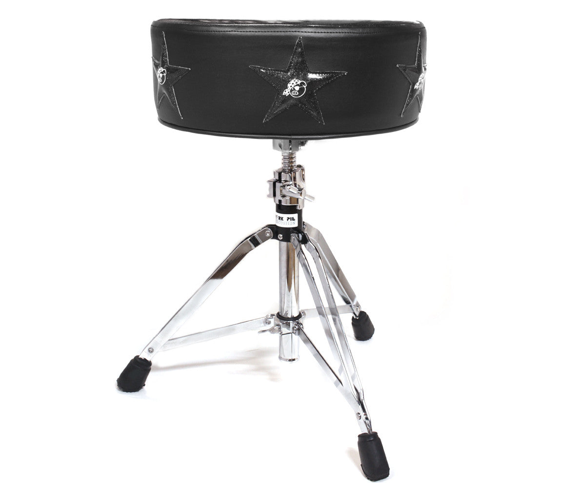 Pork Pie Deuce Black Star Drum Throne