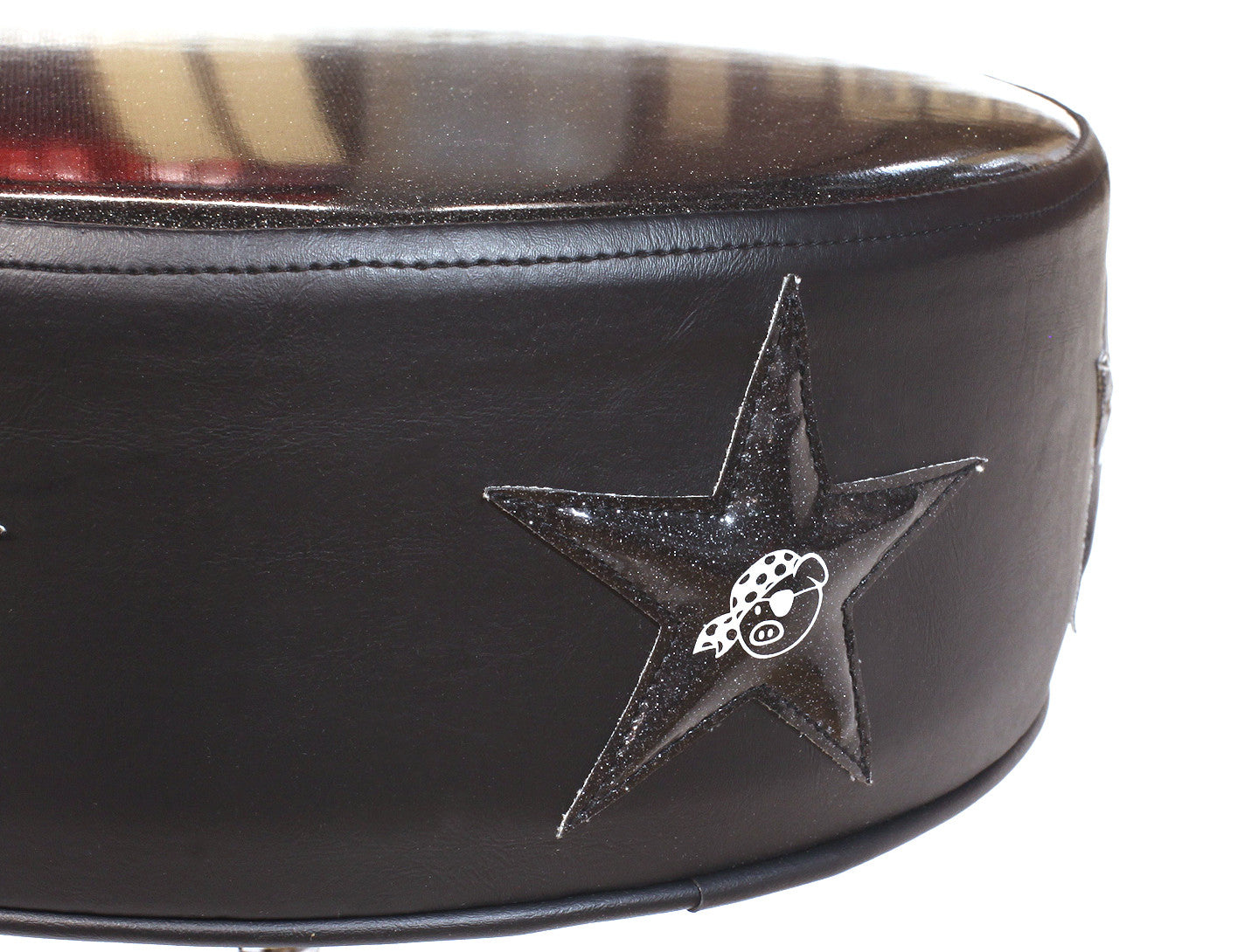 Pork Pie Black Star Drum Throne