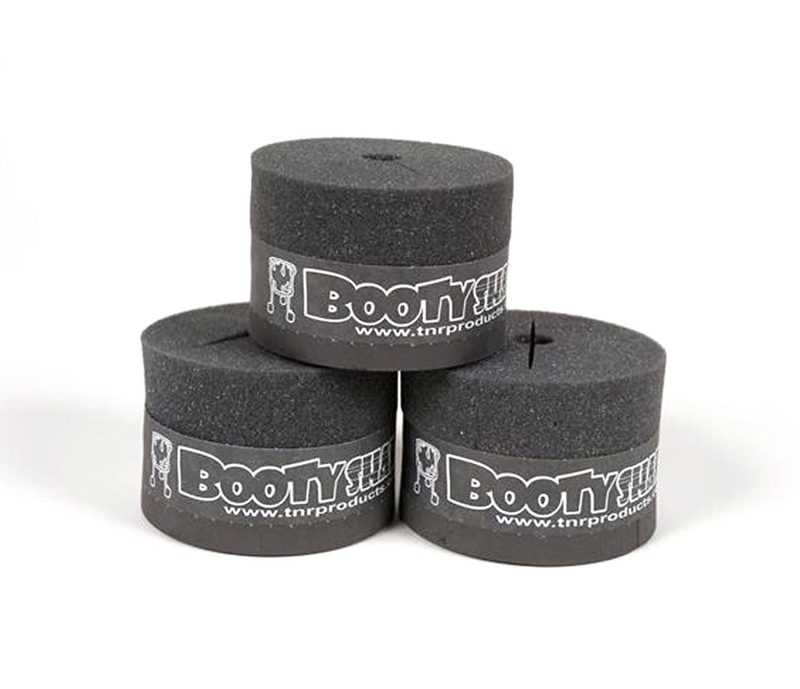 Booty Shakers Floor Tom Isolation Mount - Pack of 3, Booty Shakers, Black,