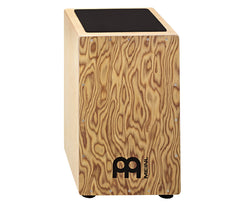 Meinl Cajon With Makah-Burl Wood Front Plate