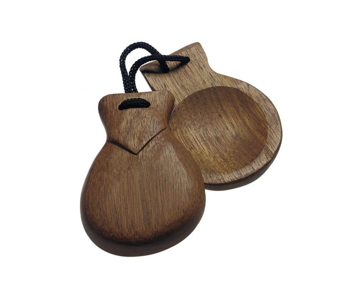 Stagg Wooden Castanets (Pair)