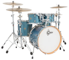 Gretsch Catalina Maple 5-Piece Shell Pack in Aqua Sparkle