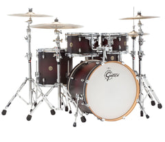 Gretsch Catalina Maple 7-Piece Shell Pack In Satin Deep Cherry Burst