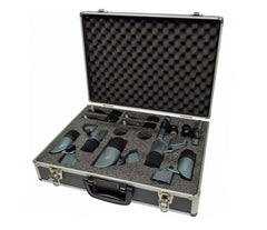 Carlsbro DM7 Drum Microphone Set in Case