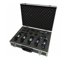 Carlsbro DM7P Drum Microphone Set in Case