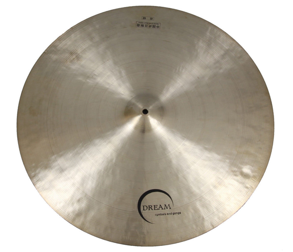Dream, Contact Series, Ride Cymbal, Small Bell Flat Ride, Small Bell Flat Ride Cymbal, Cymbal, 24