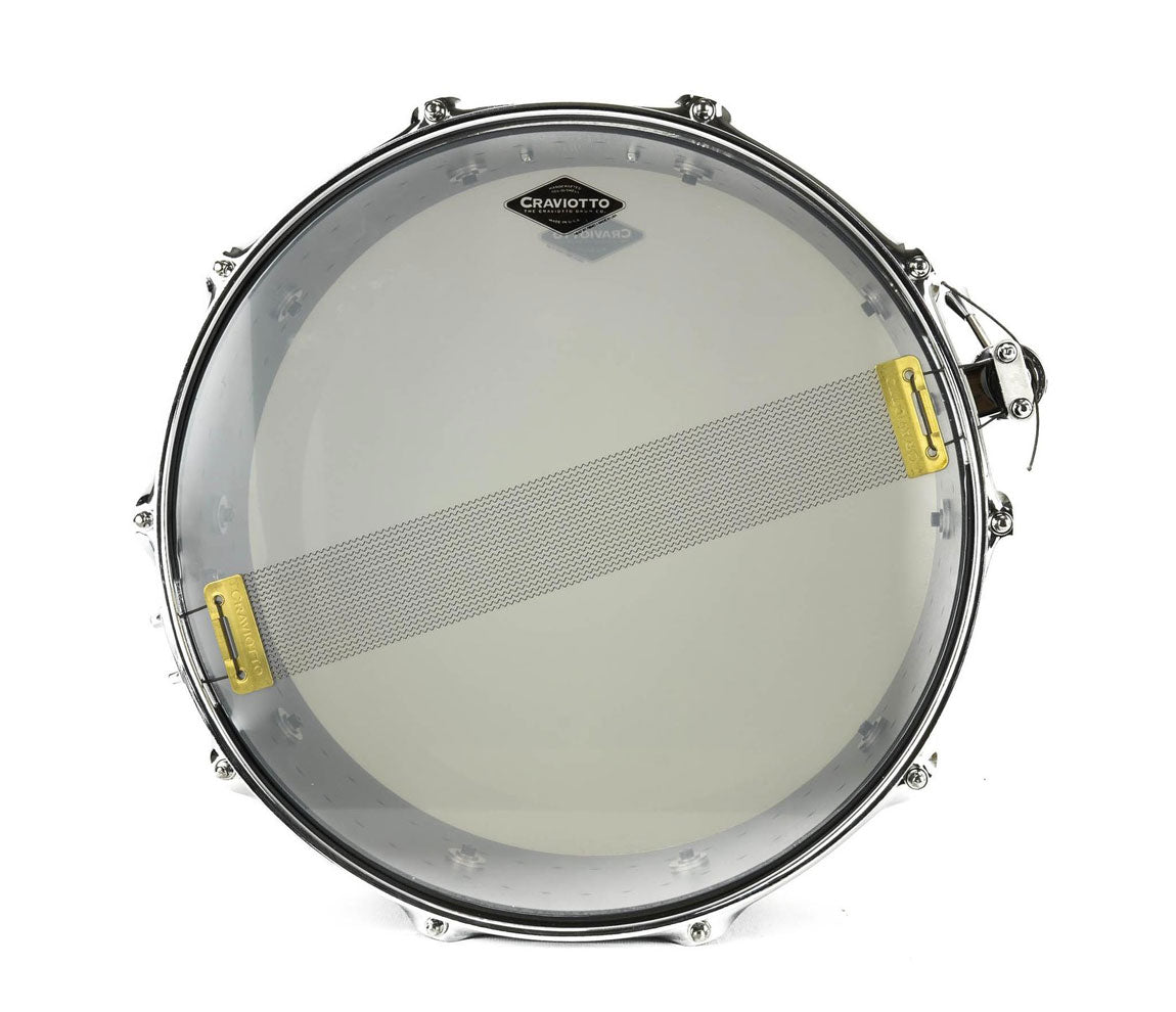 Craviotto Solitaire Series 14 x 5.5 Snare Drum In Matte Black, Craviotto, Snare Drums, Drum Lounge, 14