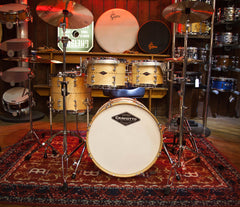 Craviotto USA Custom Shop 4-Piece Maple with Maple Inlay Drum Kit