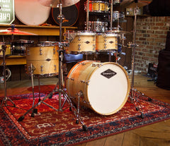Craviotto USA Custom Shop 4-Piece Maple with Maple Inlay Drum Kit, Craviotto, Acoustic Drum Kits, Maple with Maple Inlay, 4 Piece, Craviotto USA Custom Shop, Acoustic Drum Kits