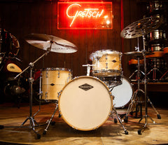 Craviotto Custom Shop 3-Piece Flat Maple with Maple Inlay Drum Kit