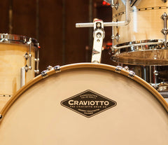 Craviotto Custom Shop Maple with Maple Inlay (Ft Vintage Adjustable Rail Mount)