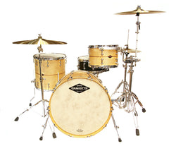 Craviotto Maple with Walnut Inlay 3-Piece Shell Pack