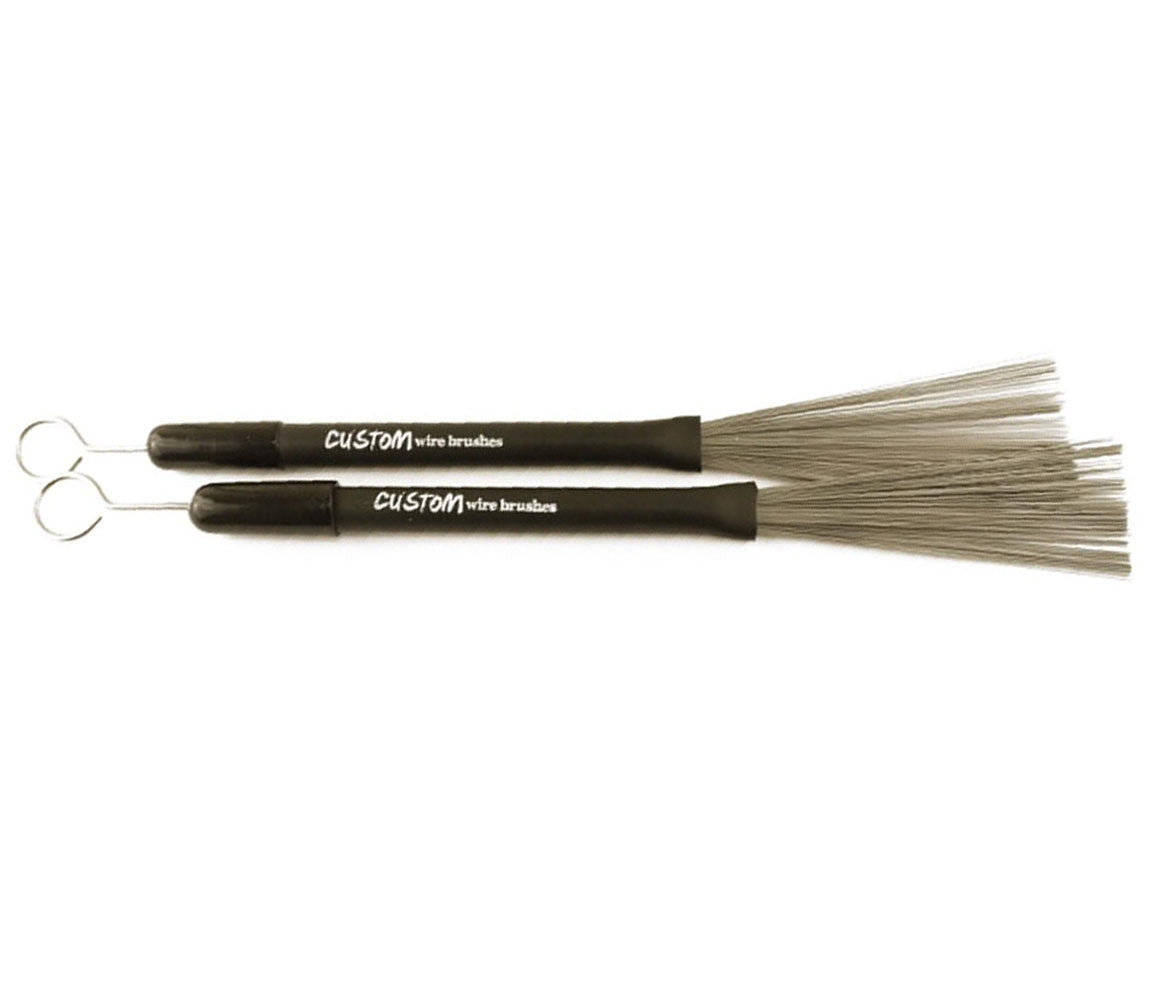 Custom Percussion Wie Brushes, Custom Percussion, Wire Brush, Brushes, Drumsticks, Retractable