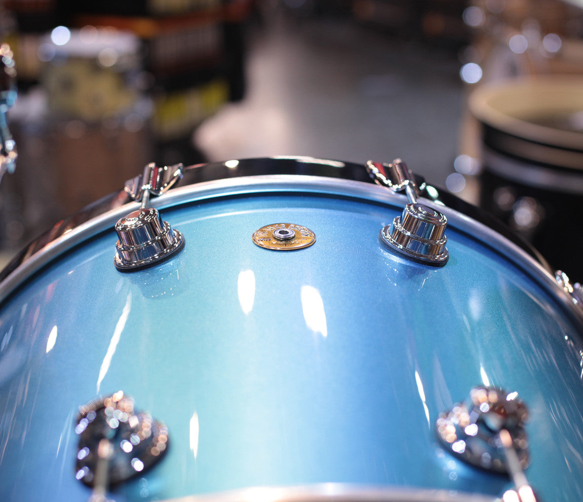 DW Laser Blue Lacquer Bass Drum Dave Grohl