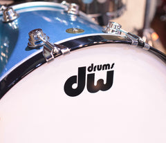 DW Drums Solid Black Lacquer Bass Drum Hoops