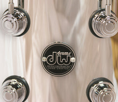 DW Chrome Over Steel Snare Drum