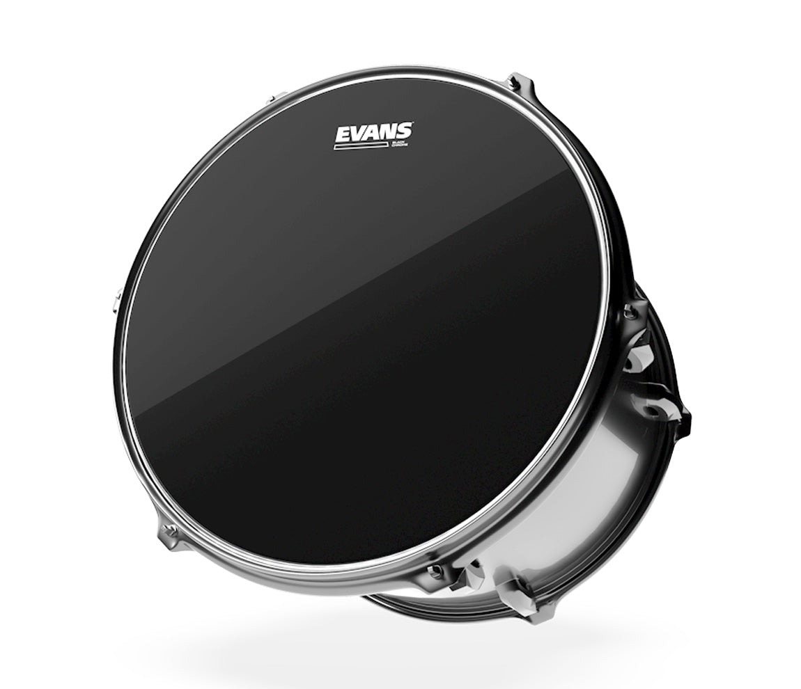 Evans Black Chrome Rock Tom Pack