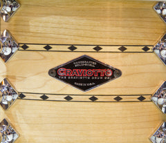 Craviotto Maple Double Diamond Inlay 4-Piece Shell Pack