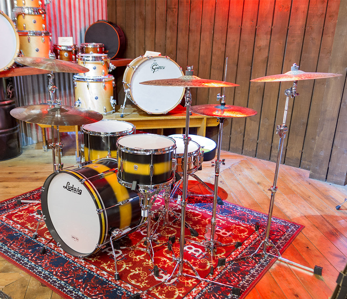 Ludwig Club Date Vintage Downbeat 3-Piece Shell Pack